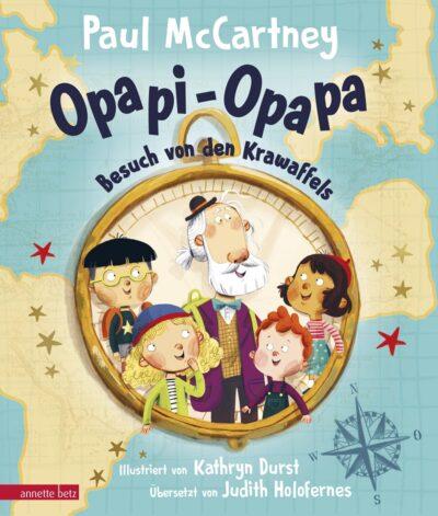 Opapi-Opapa. Besuch von den Krawaffels